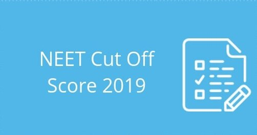 neet cut off score 2019