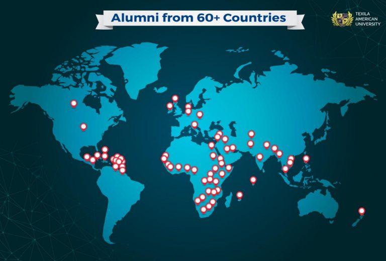 Texila Alumni Presence across the Globe