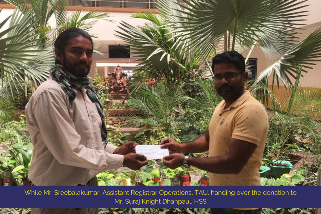 Texila American University Has Donated to India Relief Program