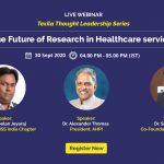 The Future of Research in Healthcare services