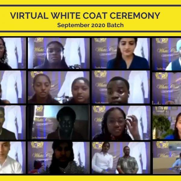 White Coat Ceremony 2020 at Texila American University