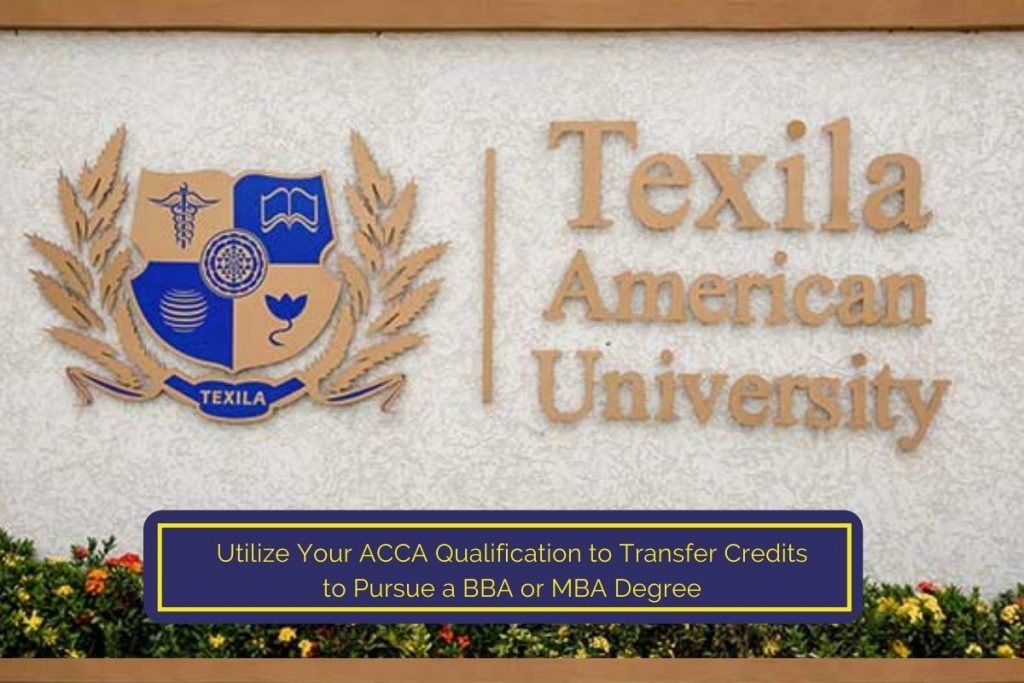 How to Utilize Your ACCA Qualification to Transfer Credits to Pursue a BBA or MBA Degree