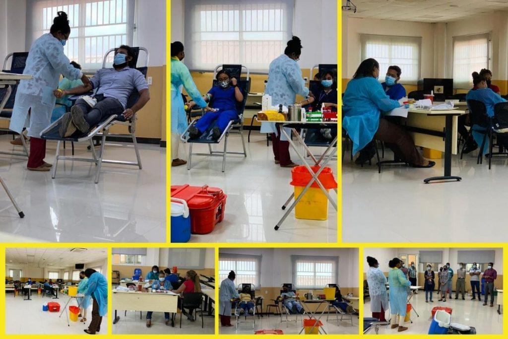 Blood Drive at Texila American University, Guyana