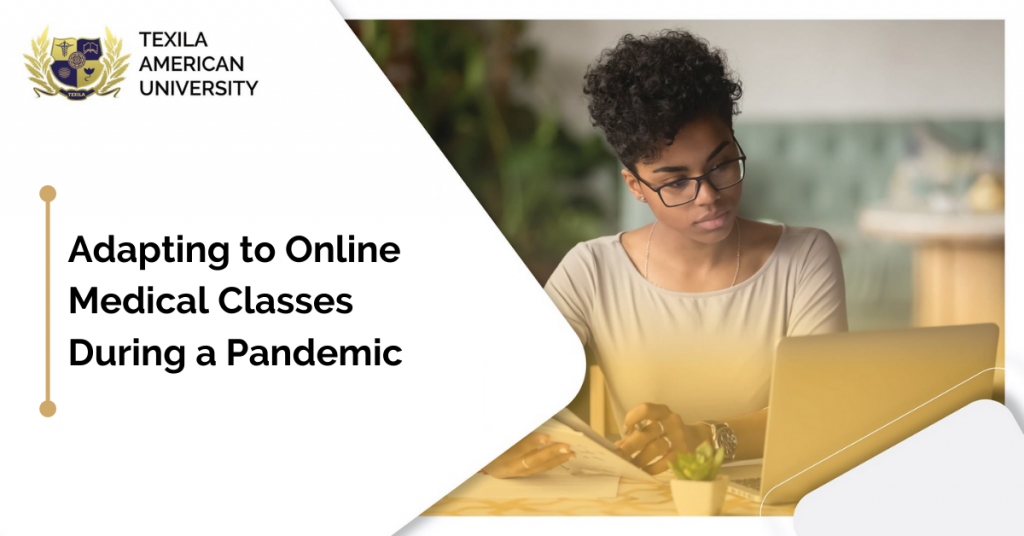 Adapting to Online Medical Classes During a Pandemic