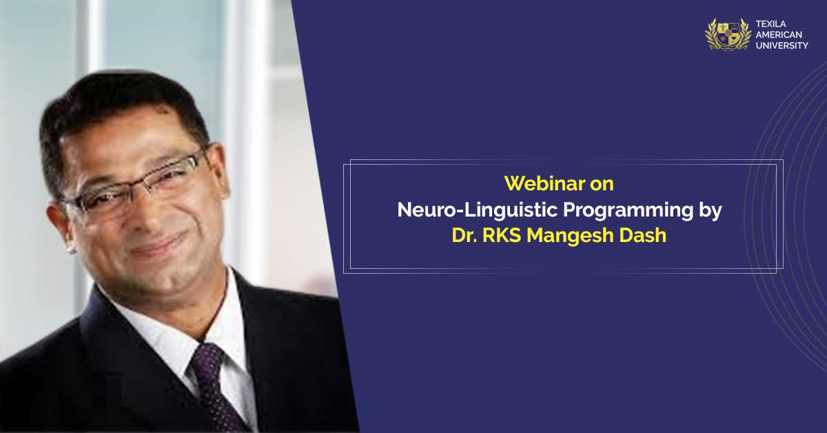 NLP webinar by Mangesh Dash