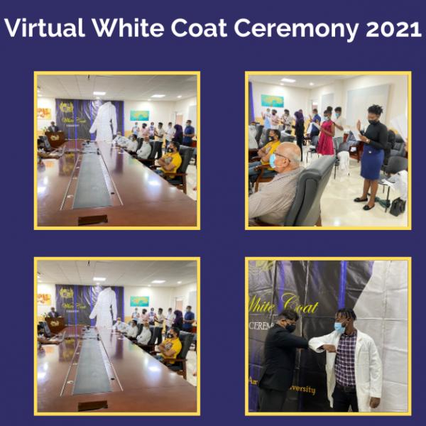 Virtual White Coat Ceremony 2021