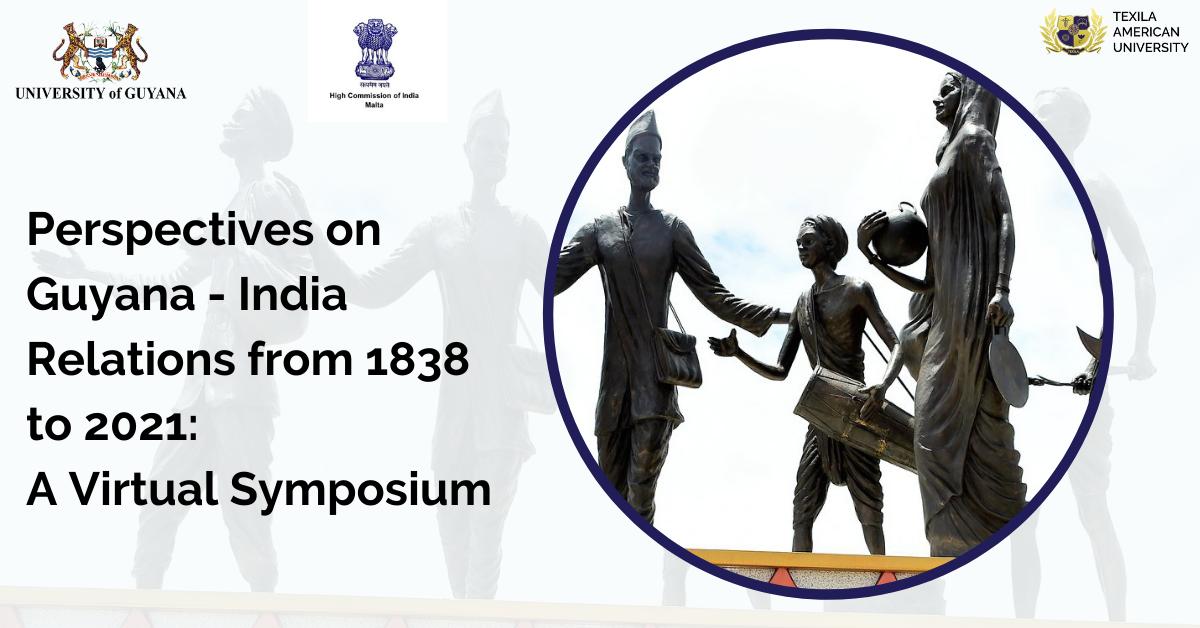 Virtual Symposium on Guyana India relation