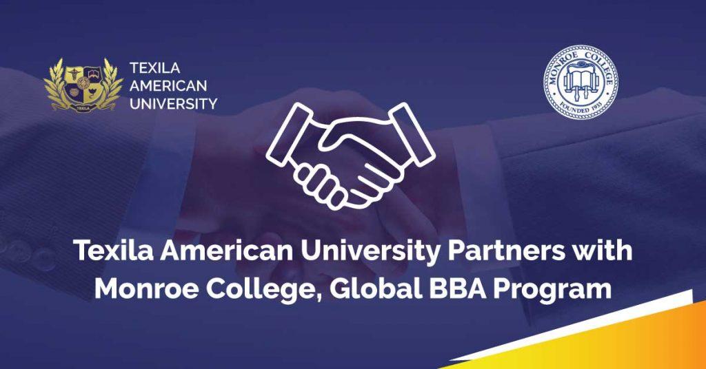 Texila Partnership with Monroe College