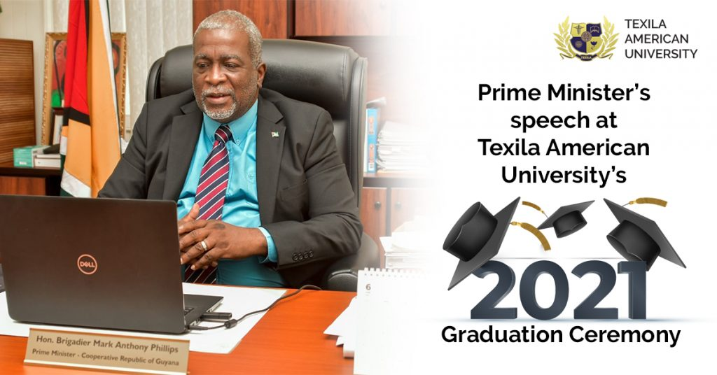 Texila 2021 Graduation Ceremony