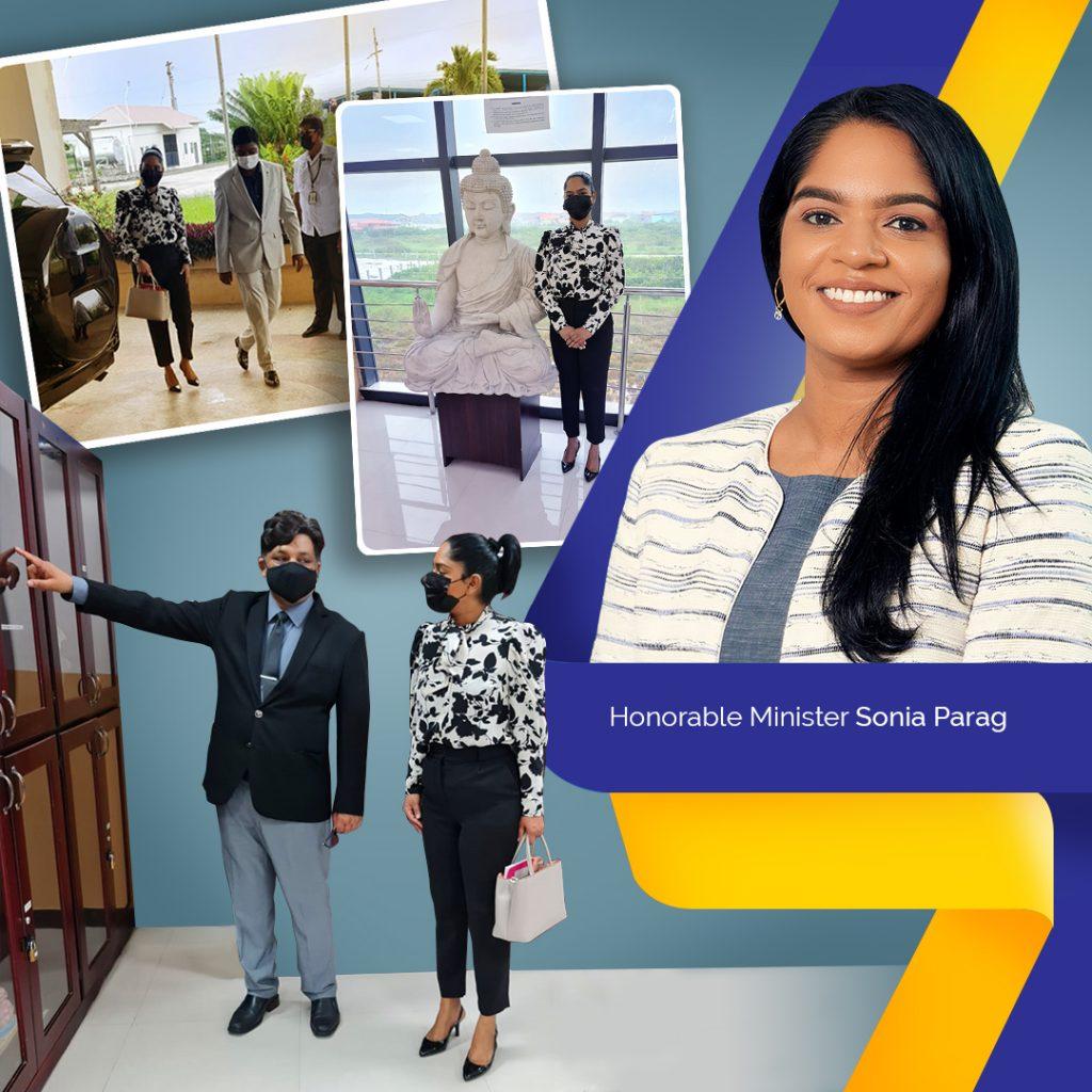 Sonia Parag visit of TAU